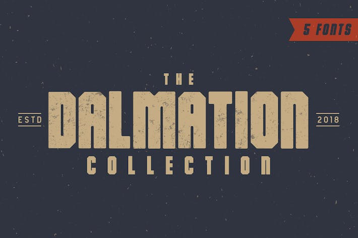 Thumbnail for The Dalmation - Font Family