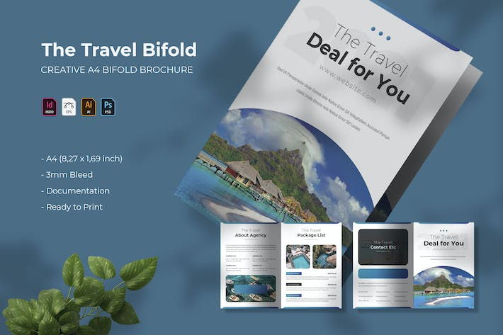 The Travel Bifold | Bifold Brochure
