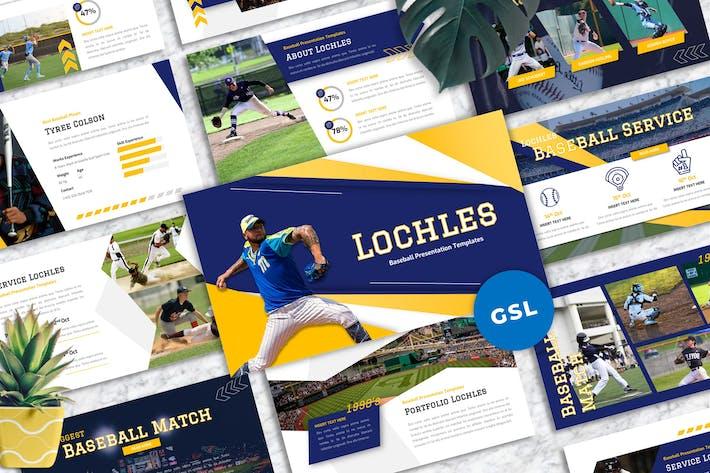 Lochles - Бейсбол Спорт Гуглеслид Шаблоны