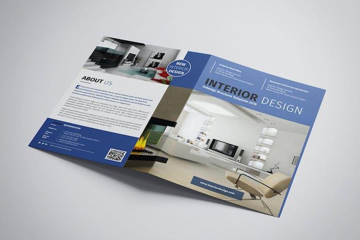 Thumbnail for Onyx - Interior Bifold BroschürenVorlage