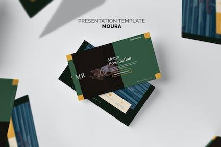 Moura : Digital Marketing Pitch Deck Keynote