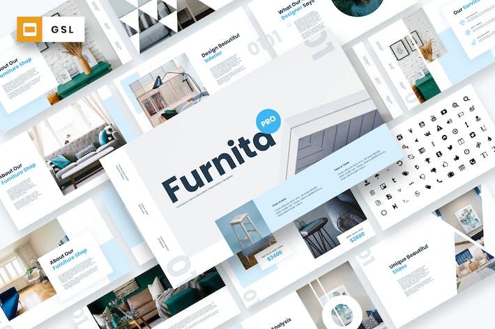 Thumbnail for Furnita Pro - Furniture Google Slides Template