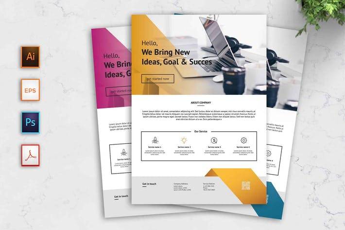Thumbnail for Business Flyer Template - [code YP]