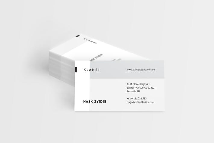 Cover Image For Fashion Business Cards