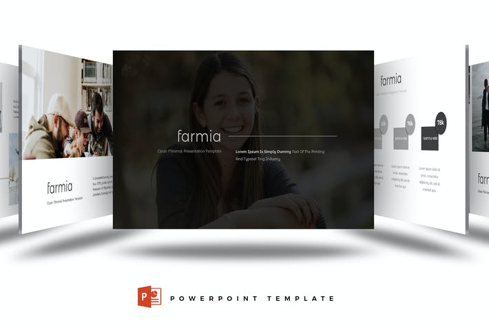 Cover Image For Farmia - Powerpoint Template