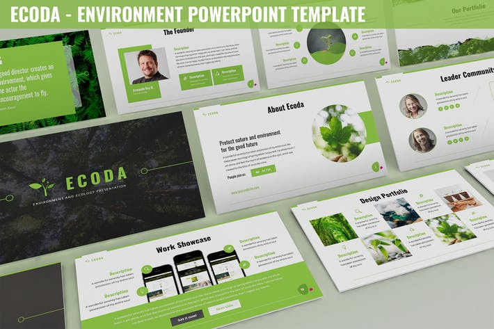 Thumbnail for Ecoda - Environment Powerpoint Template