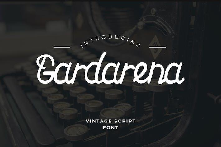 Thumbnail for Tipo de letra de script de Gardarena