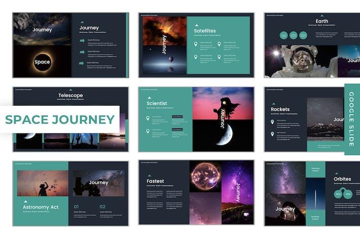 Thumbnail for Space Journey - Google Slide Template
