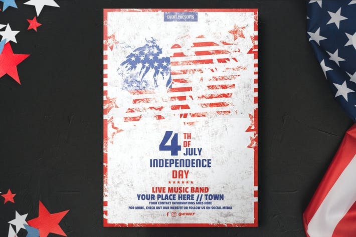 Thumbnail for Independence Day Flyer Template