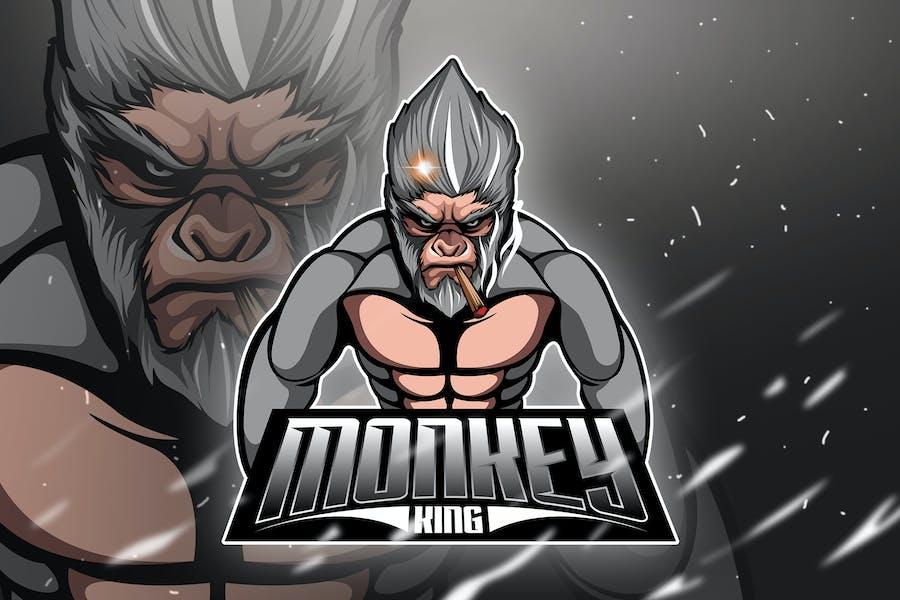 Monkey King 4 - Mascot & Esport Logo