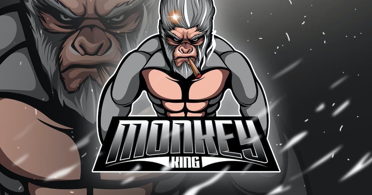 Download Monkey King 4 - Mascot & Esport Logo by aqrstudio