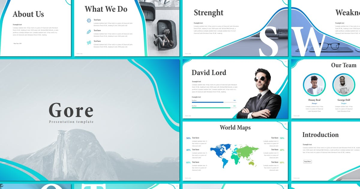 Download Gore - Keynote Template by inspirasign