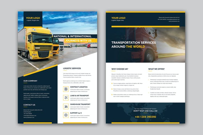 Cover Image For Flyer – Logistic