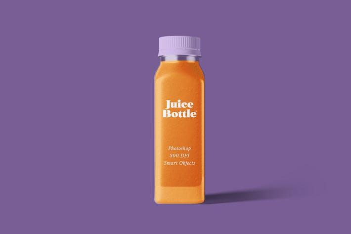 Thumbnail for Maquette de bouteille de jus