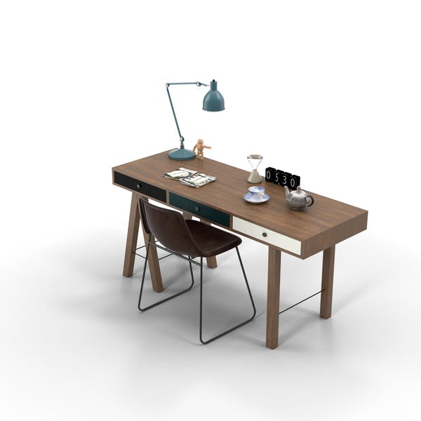 Cover Image for Desk Set