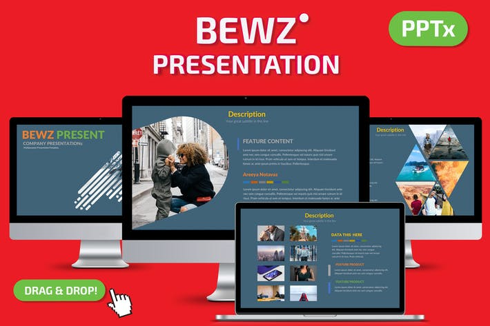 Cover Image For Bewz Powerpoint Presentation