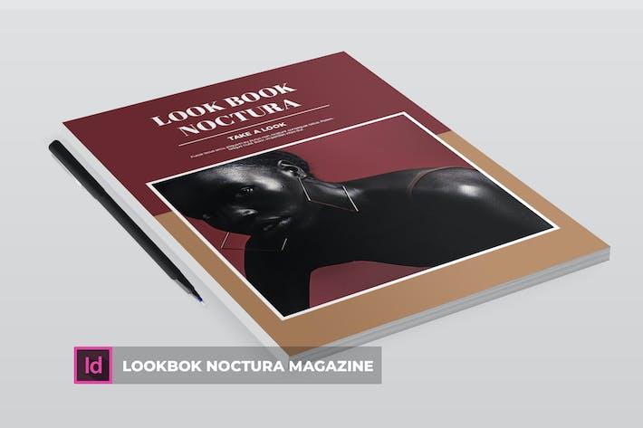 LookBok Noctura | ZeitschriftenVorlage