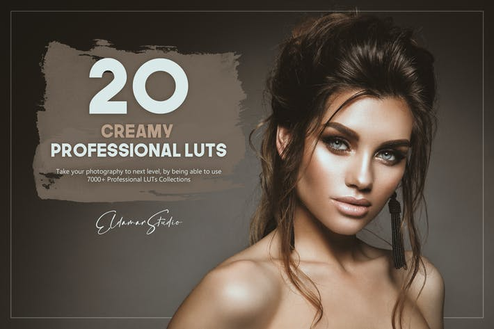Thumbnail for 20 Creamy LUTs Pack
