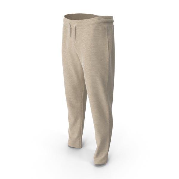 Мужские спортивные брюки желтый