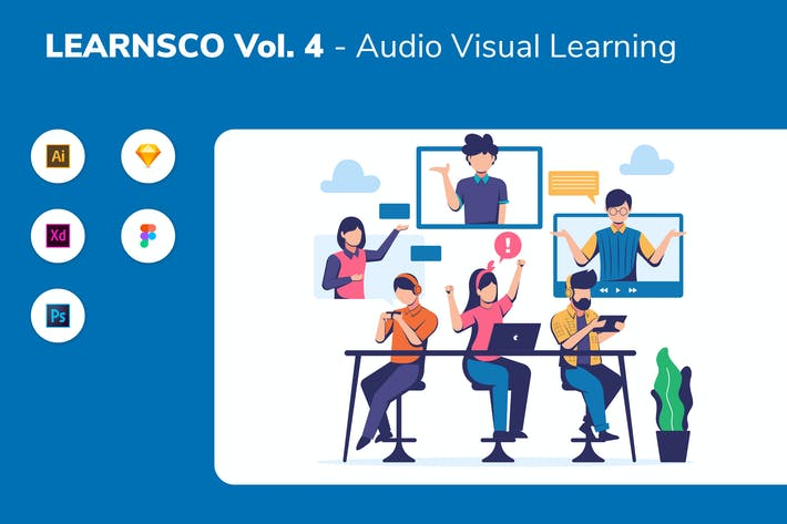 Thumbnail for LEARNSCO Vol.4 - Audio Visual Learning