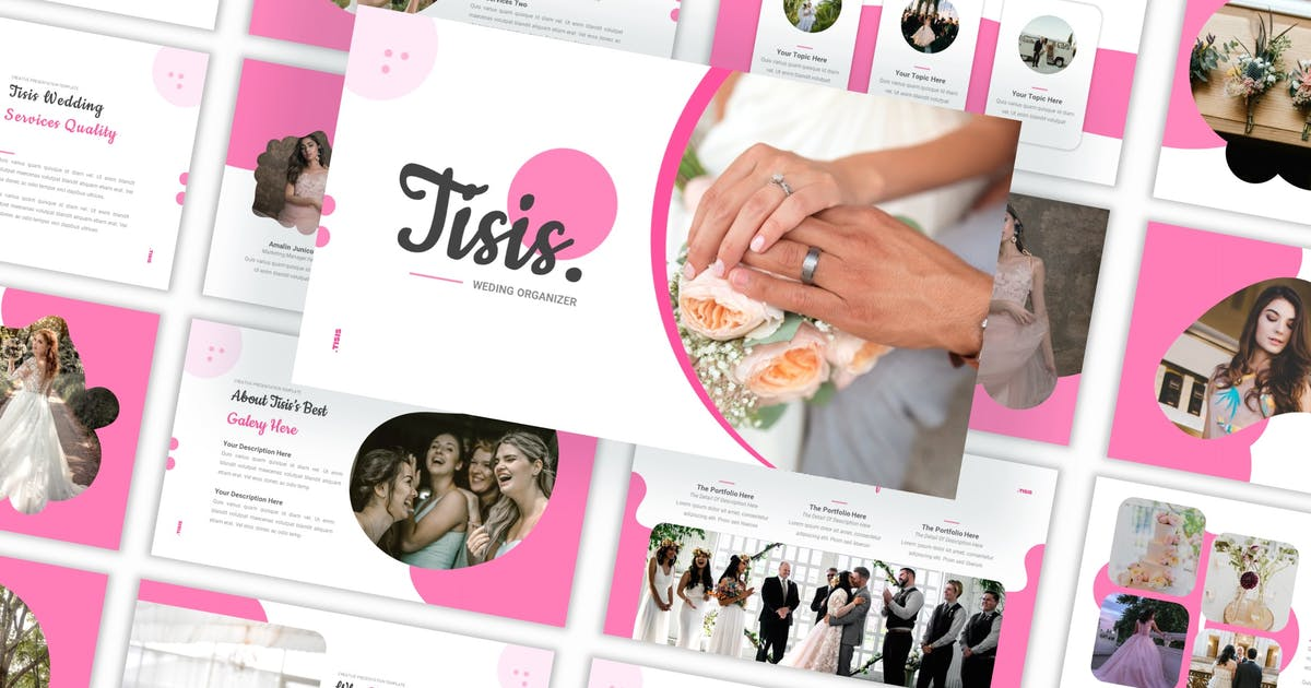 Download Tisis - Wedding Organizer Keynote Template by CocoTemplates