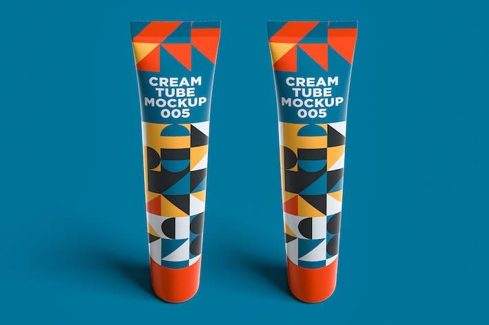 Thumbnail for Cream Tube Mockup 005