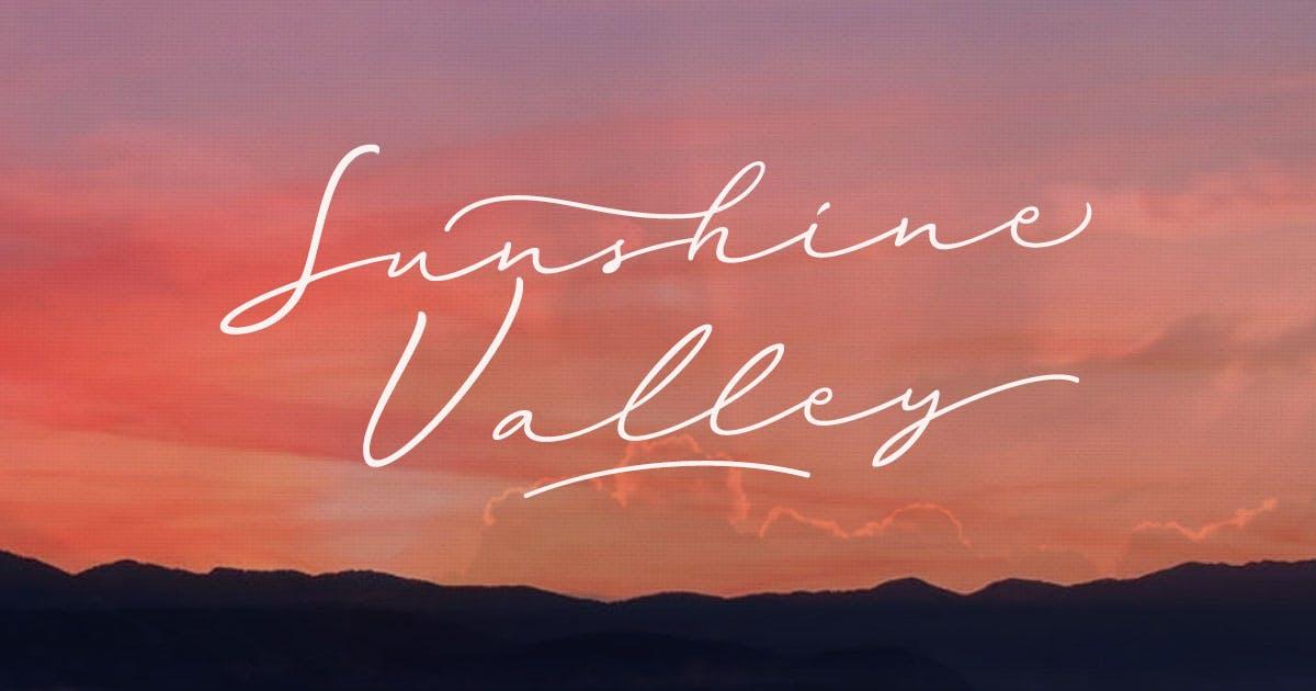 Download Sunshine Valley Script by letterhend