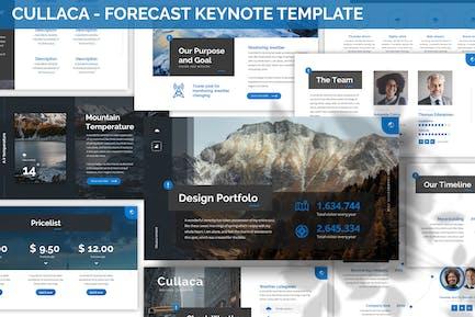 Cullaca - Forecast Keynote Template
