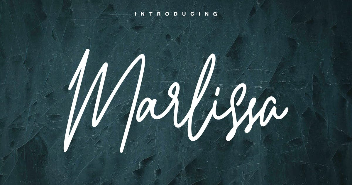 Download Marlissa - Signature Font by naulicrea