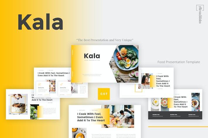 Thumbnail for Kala - Food Google Slides Template