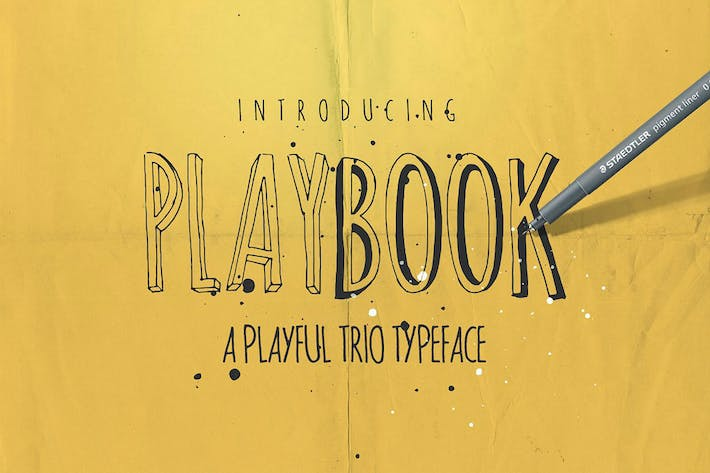 Thumbnail for Playbook Font Family