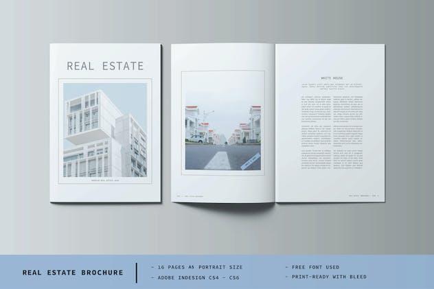 A5 Real Estate Portrait Size
