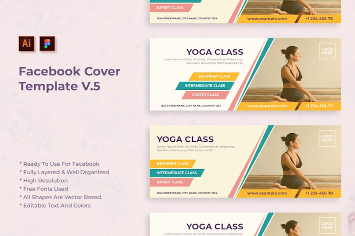 Thumbnail for Sanstemp - Fresh Facebook Cover vol 5.0