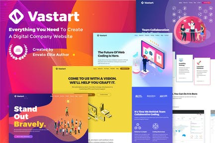 Vastart - Digital Company & Startup Theme