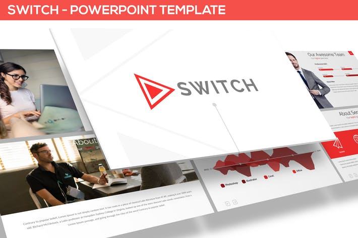 Thumbnail for SWITCH - POWERPOINT TEMPLATE