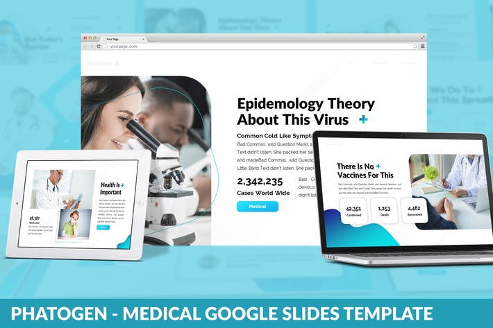 Phatogen - Medical Google Slides Template