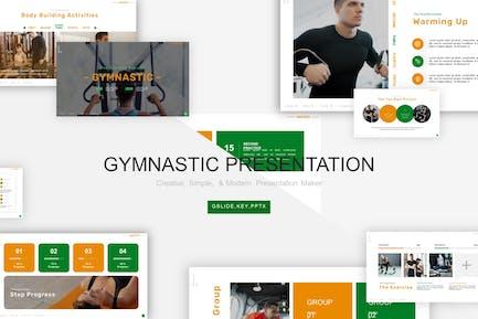 Gymnastic  Presentation Template