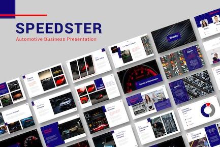 Speedster Automotive Business Presentation