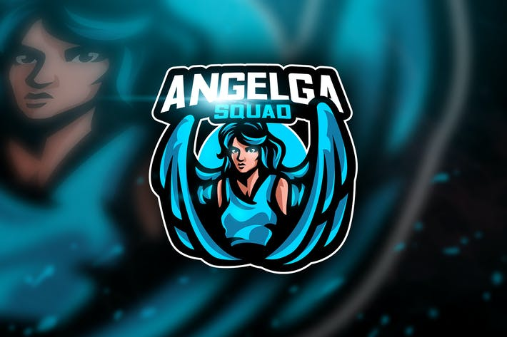Thumbnail for Angelga - Mascot & Esport Logo