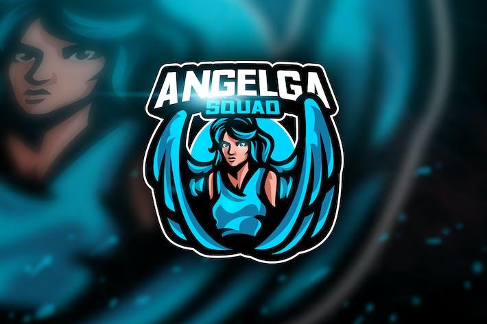 Cover Image For Angelga - Mascot & Esport Logo