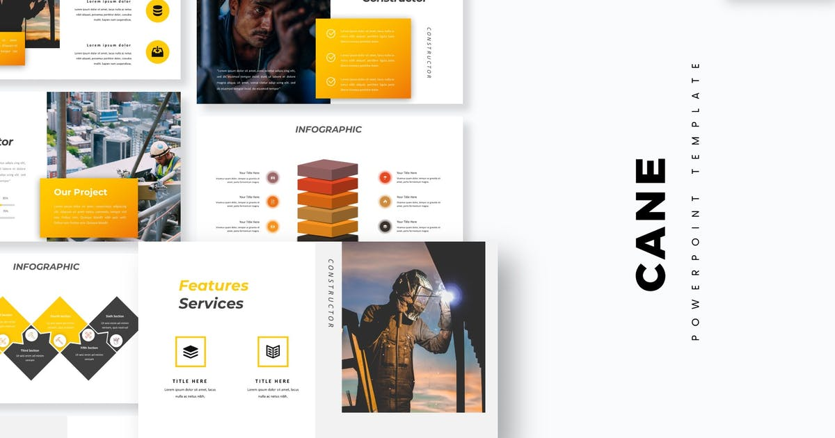 Download Cane - Powerpoint Template by aqrstudio