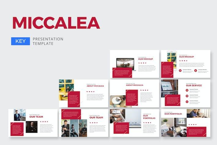 Thumbnail for Miccalea Marketing - Keynote