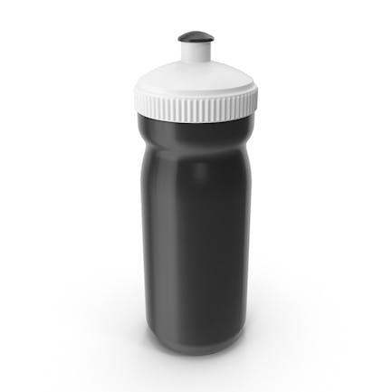 Botella deportiva negra