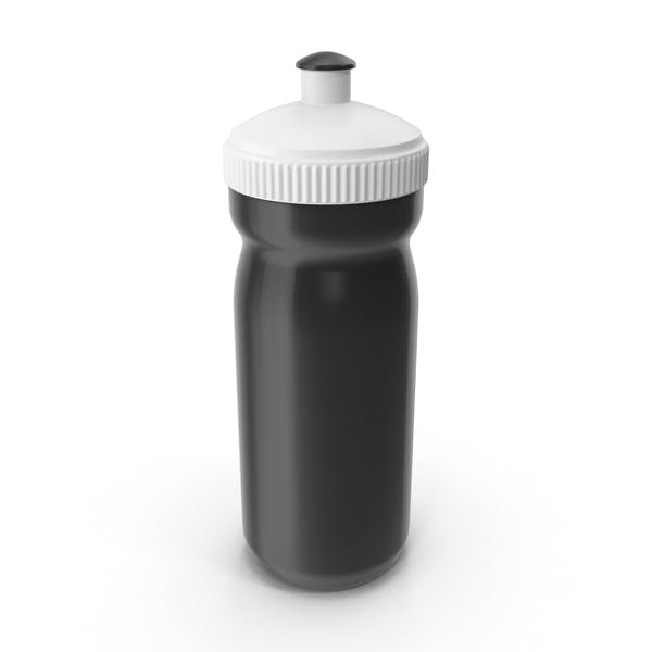 Black Sport Bottle