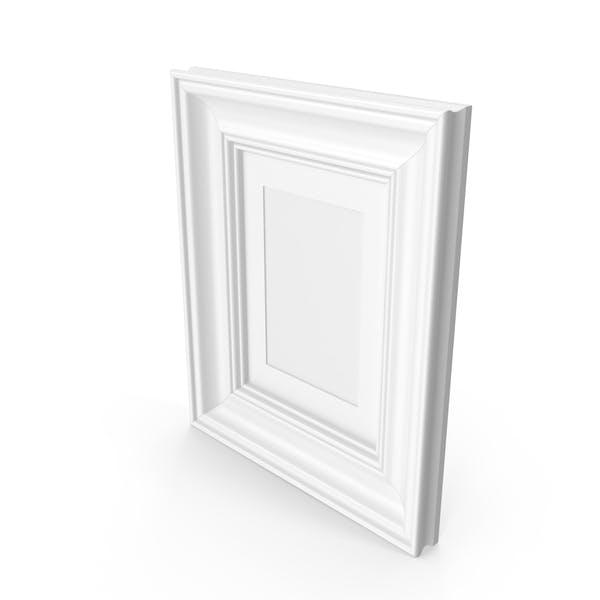 Деревянный рисунок белый