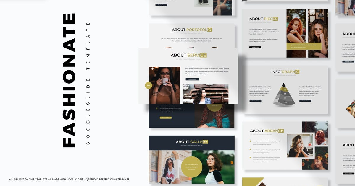 Download Fishionate - Google Slides Template by aqrstudio