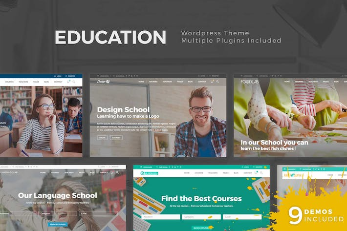 Thumbnail for Education WordPress Theme