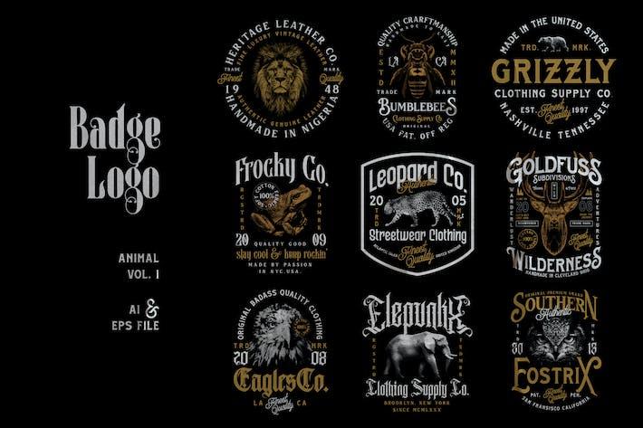 Badge Logo - Animal Series Vol. 1