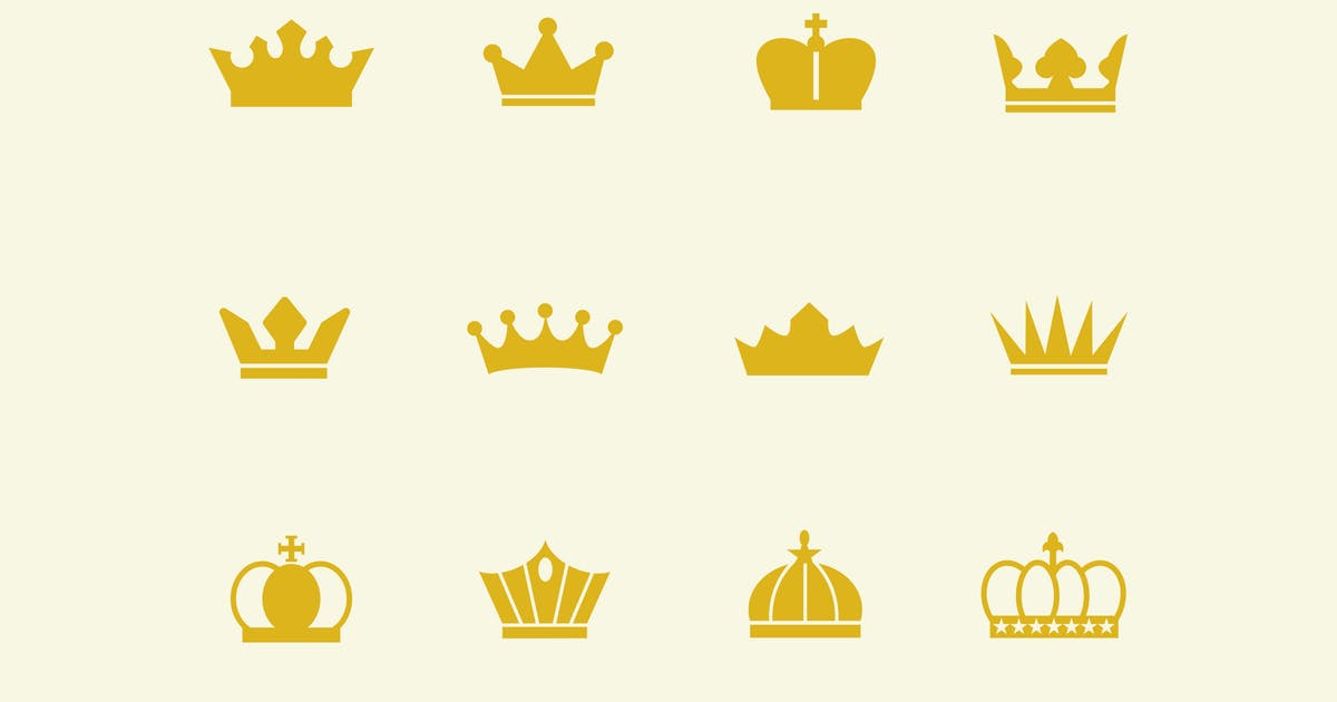 Download 12 Crown Icons by creativevip