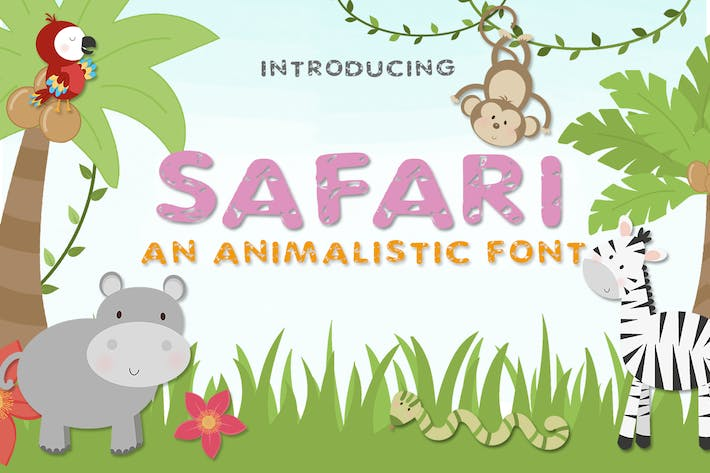 Thumbnail for Safari Font